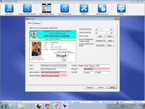 Software Pembuat Kartu Anggota | Kartu Pelajar | Kartu Perpustakaan | 081226062343