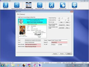 Software Pembuat Kartu Anggota   Kartu Pelajar   Kartu Perpustakaan   081226062343